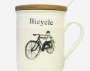 Чашка с крышкой Old Classic Велосипед фото 2