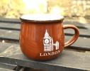 Чашка кувшин Zakka City коричневая фото