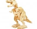 Деревянный 3D конструктор «Динозавр Трицератопс» на радиоуправлении фото 1