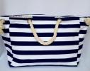 Пляжная текстильная сумка с морским принтом фото 6
