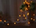 Гирлянда Шарик Золото проволока LED 20 фото