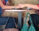 Держатель для сумки Бриллиант с зеркалом фото 1