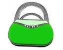 Вешалка для сумки Салатовый Клатч фото