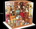 Кукольный домик «сделай сам». «Библиотека» фото 1
