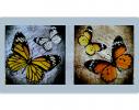 Набор для вышивки картины Бабочки 100х55см фото