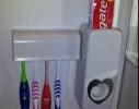 Дозатор зубной пасты с держателем для щеток фото 2