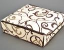 Коробочка на 24 секции c крышкой Молочный Шоколад фото 2