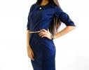 Платье темно синее Графиня фото 2