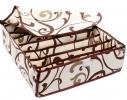 Коробочка на 7 секций с крышкой Молочный Шоколад фото 1