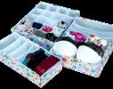 Комплект органайзеров для белья Яркое лето 3 шт фото