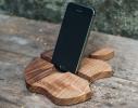 Подставка из дерева Apple фото 1