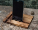 Прямоугольная подставка из дерева фото 1