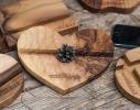 Подставка из дерева Сердце фото 1