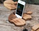 Подставка из дерева Apple фото