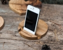 Подставка для смартфона Круг дерево фото 1