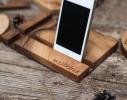 Прямоугольная подставка из дерева фото