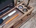 Подставка для гаджетов и косметики с дерева Макияж фото 2