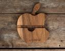 Подставка из дерева Apple фото 2