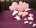Подушка Тучка Розовая фото 1