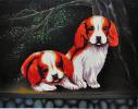 Набор для вышивки картины Озорники 77х60см фото