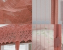 Дверная антимоскитная сетка на магнитах коричневая фото 1