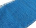 Дверная антимоскитная сетка Magnetic Mesh на магнитах синяя фото 5