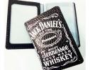 Кожаная обложка для автодокументов, ID-карты Jack Daniel's (Джек Дениелс) фото