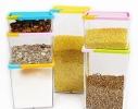 Набор контейнеров для сыпучих продуктов 6 шт. фото 1