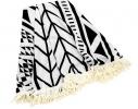 Пляжный коврик Мандала черная фото 1