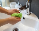 Мячик-попрыгун для уборки пыли Microfiber mop ball Mocoro фото 5
