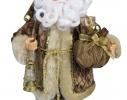 Дед Мороз в золотой шубе 30,5см фото