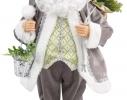 Дед Мороз с клеткой для птиц 46см фото