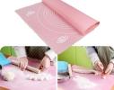 Силиконовый коврик для раскатывания теста 40х50 см фото