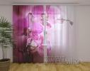 Шторы Орхидея пурпур фото
