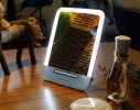 Зеркальце с LED подсветкой с зарядкой от USB фото 4