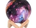 Настольный светильник Луна Цветная фото