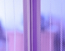 Антимоскитная шторка NOT FLY на сплошном магните 210 x 100 см. Фиолетовая фото 1