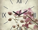 Часы квадратные Сакура фото
