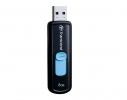 Флешка Transcend JetFlash 500 8Gb Черная фото