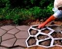Форма для садовой дорожки фото 1