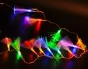 Гирлянда светодиодная нити 200 LED на белом проводе