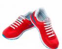 Детские прямые cиликоновые АнтиШнурки для кроссовок и кед, 12шт. (длина: 38мм) фото 3