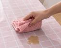 Скатерть клетчатая, многофункциональная, водоотталкивающая Розовая фото 1