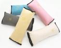 Подушка-накладка на ремень безопасности под голову Голубая фото 7