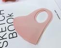 Маска защитная трехслойная многоразовая для детей Розовая фото 6