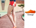 Тапочки аквашузы для пляжа и бассейна размер S оранжевые фото