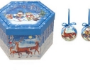 Набор новогодних шаров Настроение 14шт фото