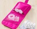 Органайзер-аптечка дорожный розовый фото 2