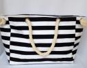 Пляжная текстильная сумка с морским принтом фото 7