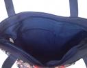 Летняя текстильная сумка для пляжа и прогулок Сова на ветке фото 2
